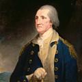 Portrait Of George Washington by Robert Edge Pine
