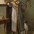 Portrait Of Gottlieb Christian Heigelen As A Hunter by Philipp Friedrich von Hetsch