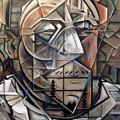 Portrait Of H by Martel Chapman