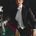 Portrait Of Harald Bildt by Anders Zorn