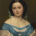 Portrait Of Henriette Mayer Van Den Bergh, At And By Jozef Van Lerius by Artistic Rifki