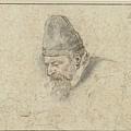 Portrait Of Henry Avercamp by Hendrick Avercamp