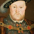Portrait Of Henry Viii by English School