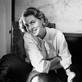 Portrait Of Ingrid Bergman Smiling by Horst P Horst