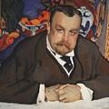 Portrait Of Ivan Morozov 1910 Valentin Serov by Eloisa Mannion