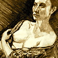 Portrait Of Jacqueline by Dan Earle