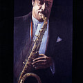 Portrait Of Johnny Griffin by James LeGros