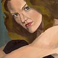 Portrait Of Kathy Arvidson by Stephen Panoushek