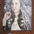 Portrait Of Kiki Smith by Georgia Annwell