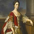 Portrait Of Lady Elizabeth Compton Later Countess Of Burlington by Nathaniel Dance