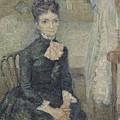 Portrait Of Leonie Rose Charbuy-davy Paris  March  April 1887 Vincent Van Gogh 1853  1890 by Artistic Panda