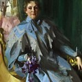 Portrait Of Lilly Eberhard Anheuser Anders Zorn by Eloisa Mannion
