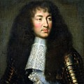 Portrait Of Louis Xiv by Charles Le Brun