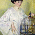 Portrait Of Madame Frieseke by Frederick Carl Frieseke