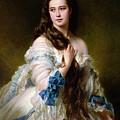 Portrait Of Madame Rimsky Korsakov by Franz Xaver Winterhalter