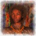 Portrait Of Maillie by Judi Suni Hall