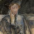 Portrait Of Maria Bal by Jacek Malczewski