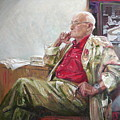 Portrait Of May Dancig by Sergey Ignatenko