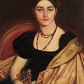 Portrait Of Mrs Devauay by Ingres Jean Auguste Dominique