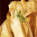 Portrait Of Mrs Eben Richards Anders Zorn by Eloisa Mannion