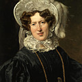 Portrait Of Mrs Wartfeld by Ferdinand Georg Waldmueller