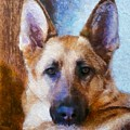 Portrait  Of My Friend 2015  by Kathryn Strick