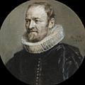 Portrait Of Nicholas Rockox by Anthony van Dyck