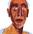 Portrait Of Old Man by Michal Boubin