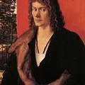 Portrait Of Oswolt Krel 1499 by Durer Albrecht