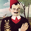 Portrait Of Pierre Loti by Henri Rousseau