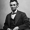 Portrait Of President Abraham Lincoln by International  Images