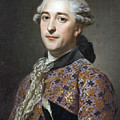 Portrait Of Prince Vladimir Golitsyn Borisovtj by Alexander Roslin