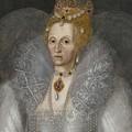 Portrait Of Queen Elizabeth by MotionAge Designs