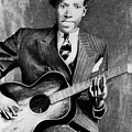 Portrait Of Robert Johnson by Carrie Jackson
