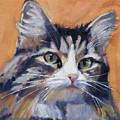 Portrait Of Squeaky by Deb Putnam
