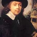 Portrait Of The Artist In His Studio by Dou Gerrit