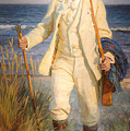 Portrait Of The Danish Painter Peder Severin Kroyer by Celestial Images