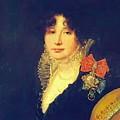 Portrait Of The Princess A Scherbatova 1808 by Kiprensky Orest