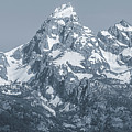 Portrait Of The Tetons by Dan Sproul