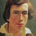 portrait of the young Arnold Bocklin by MotionAge Designs