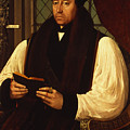 Portrait Of Thomas Cranmer by Gerlach Flicke