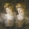 Portrait Of Two Ladies by MotionAge Designs