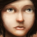 Portrait Of Vela by Ethan Harris