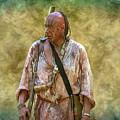 Portrait Of Warrior Bushy Run by Randy Steele