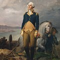 Portrait Of Washington by George Washington