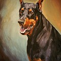 Portrait Of Zeus by Kathleen Heese