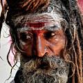Portrait On The Ganges by Kedar Munshi