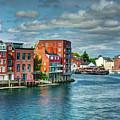 Portsmouth Harbor by Dave Thompsen