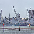 Portsmouth Navy Docks by Martin Newman
