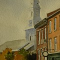 Portsmouth North Church Tower by Walt Maes